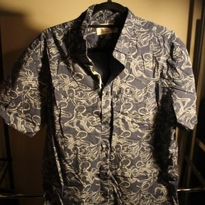 Men's Old Navy Short Sleeve Print Button Down